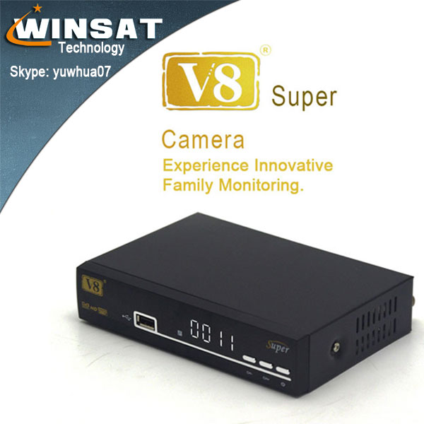 V8 Super DVB-S2 free to air digital Full <strong>HD</strong> <strong>satellite</strong> <strong>receiver</strong> with 2 usb port,CA slot support Unicable XML EPG IPTV <strong>Youtube</strong>
