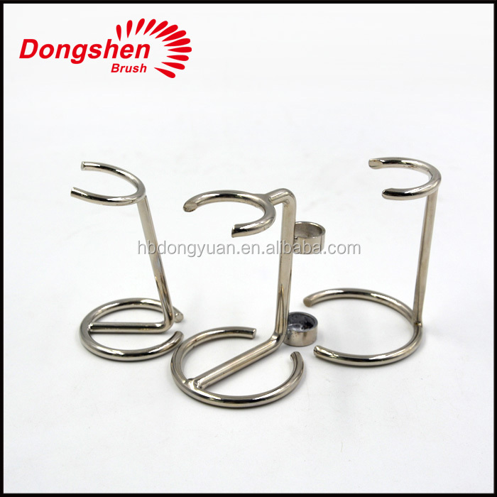 High quality Chrome Razor & Shaving Brush Stand free sample