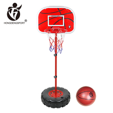 Kids sport games shooting toy 1.6m movable basketball stand for wholesale