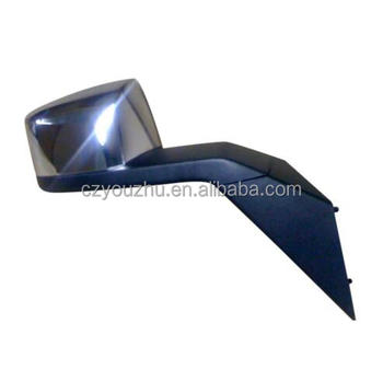TRUCK CHROME HOOD MIRROR WITH PLATES FOR VOLVO VNL