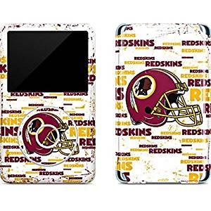 NFL Washington Redskins iPod Classic (6th Gen) 80 & 160GB Skin - Washington Redskins - Blast Vinyl Decal Skin For Your iPod Classic (6th Gen) 80 & 160GB