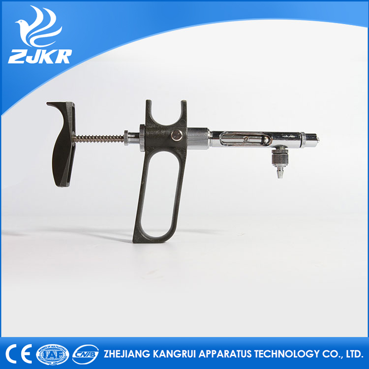 factory outlet ZJKR veterinary product 2ml Continuous Syringe injector C-Type