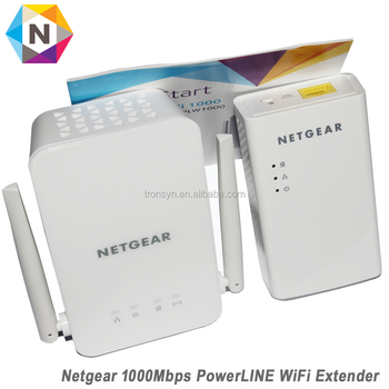 Netgear Powerline Plw1000 Bridge 802 11b/g/n/ac Wall Pluggable With Netgear  Powerline 1000 Adapter - Buy Wifi Adapter,Wall Pluggable Wifi