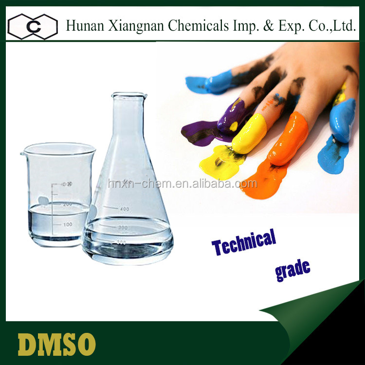 High Purity 99.9% Dimethyl Sulfoxide Industrial Chemicals