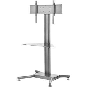 """Peerless Industries, Inc - Peerless-Av Ss560m Display Stand - Up To 65"""" Screen Support - 200 Lb Load Capacity - Flat Panel Display Type Supported - 1 X Shelf(Ves)40"""" Width X 27.5"""" Depth - Floor Stand - Black """"Product Category: Accessories/Stands & Cabinets"""""""
