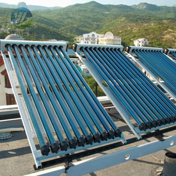 Solar thermal system for engineering Swimming pool solar heating