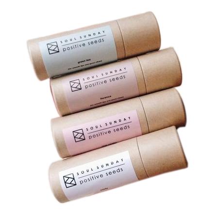 Custom design push up paper tubes with packaging tube cartoon for lip balm deodorant paper tube
