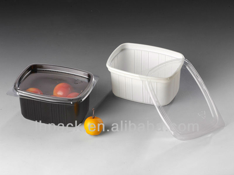 Factory Custom High Quality Serving Trays Plastic Disposable Plastic Food Packaging Trays