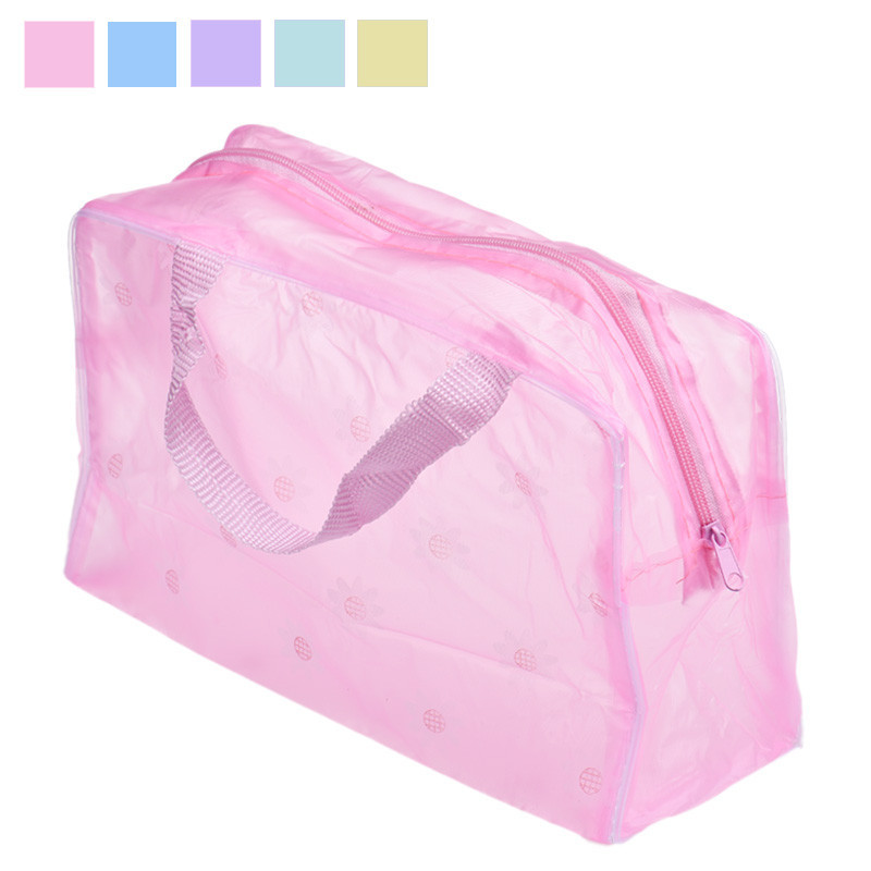 Wholesale New Fashion Women Makeup Bag Portable Makeup Cosmetic Toiletry Travel Wash Toothbrush Pouch Organizer Bag