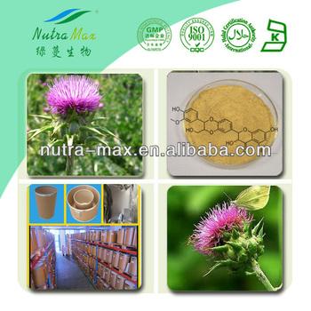 NutraMax Supply-Milk Thistle Extract/Milk Thistle Extract Powder/Milk Thistle Extract Silymarin 80%