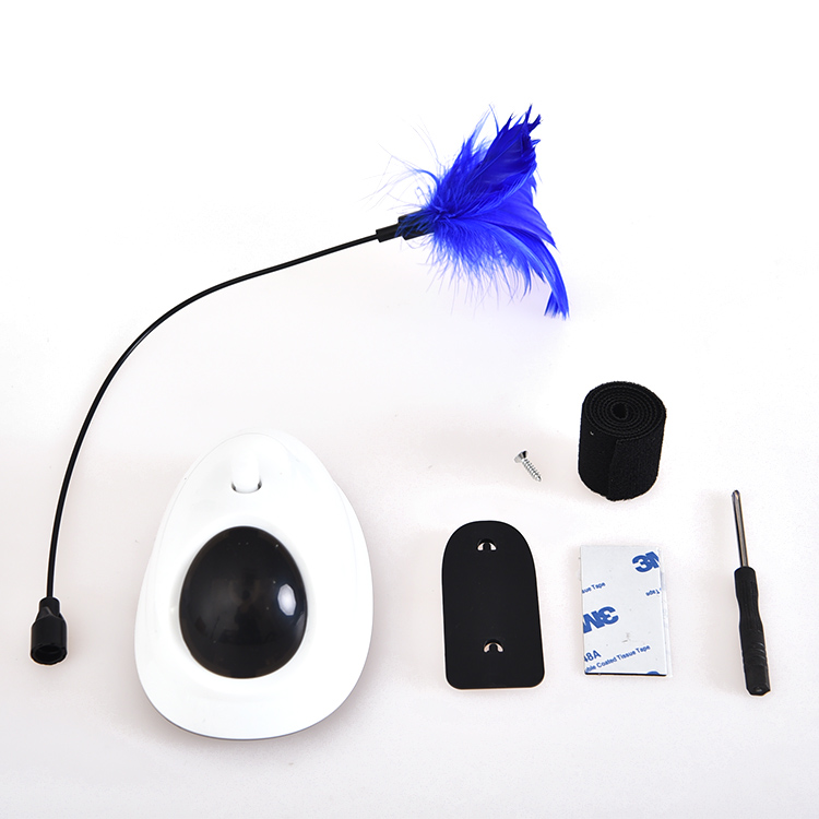 Eco-friendly electronic cat toy, Removable Cat Electric Rotating Feather