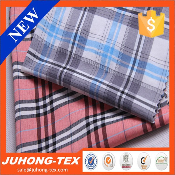 6395 juhong polyester stretch china shirt fabric
