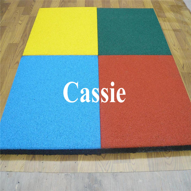 Rubber Flooring Colorful Kids Exercise