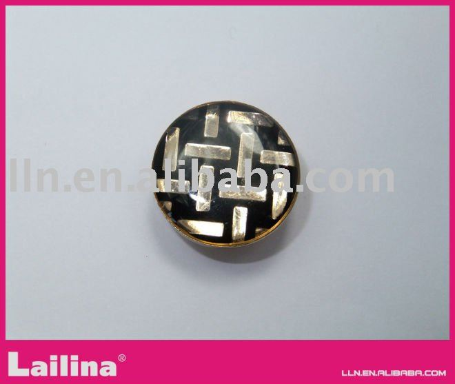 fabric covered snap button
