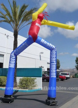 Two Leg Inflatable Air Dancer For Advertising For Shop