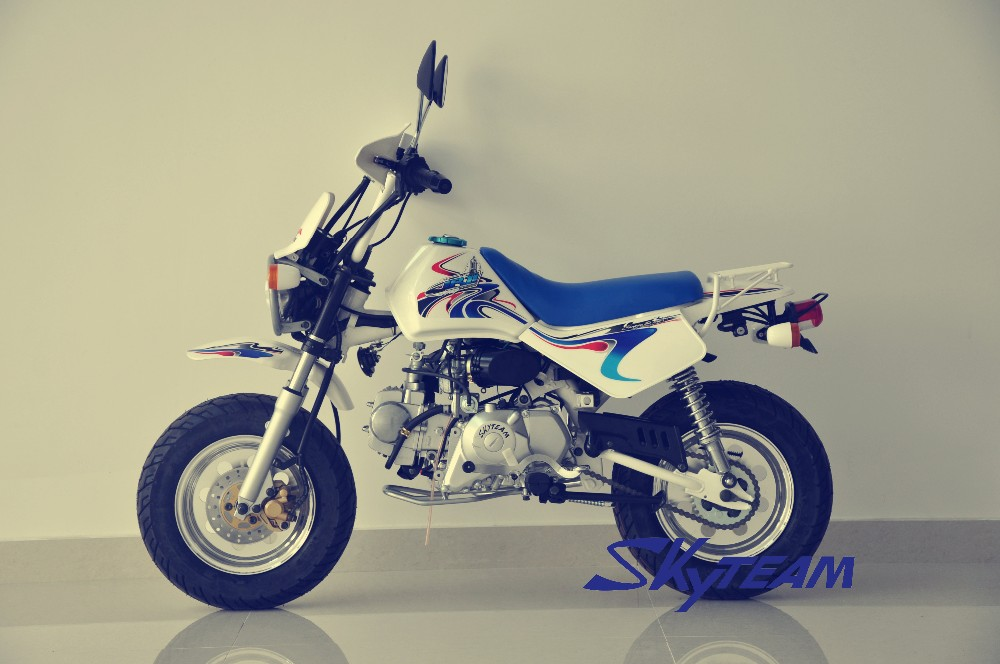 skyteam 125cc 4 stroke baja monkey motorcycle view. Black Bedroom Furniture Sets. Home Design Ideas