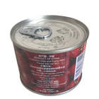 China Organic 210 grams of canned tomato paste /tomato ketchup