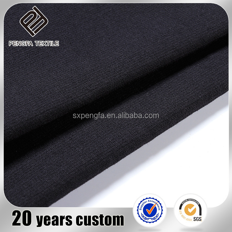 made in china english cotton fabric, fashion in roll black modal cotton fabric