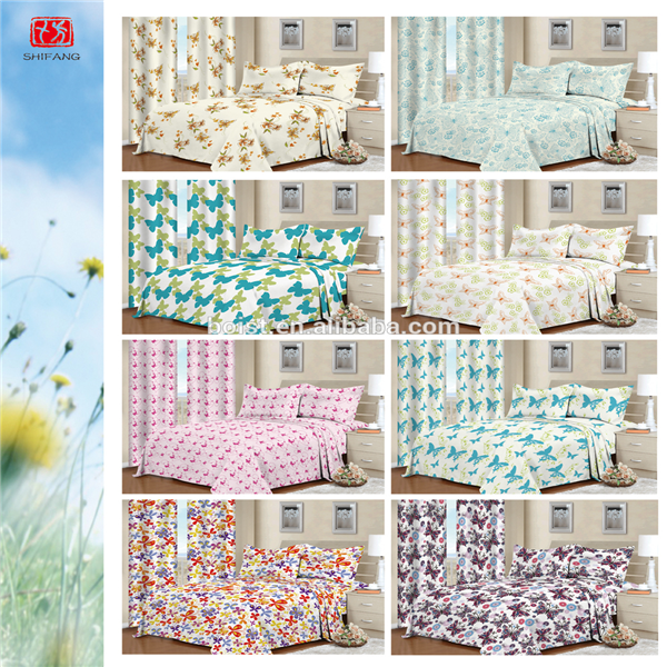 polyester fabrics for duvet covers with matching curtains