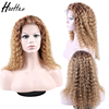 wholesale top sale virgin human 360 lace frontal wig with baby hair