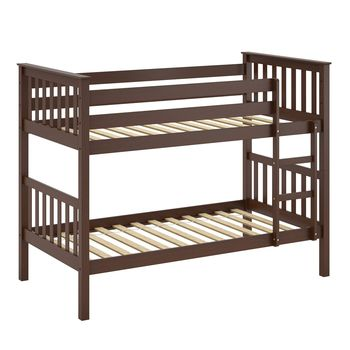 Wjz-b63 Solid Pine Wood Twin Cheap Bunk Bed Frame - Buy Bunk Bed ...