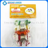 2.5 Inches Rawhide Dog Bones Colorful Dog Bone