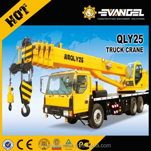Chinese best selling 20ton truck crane QLY25