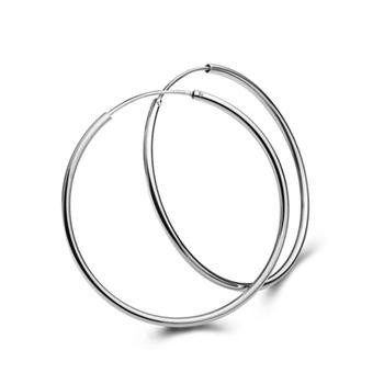 2017 amazon large big gold Silver Jewelry ladies 925 Sterling Silver Hoop <strong>Earrings</strong>