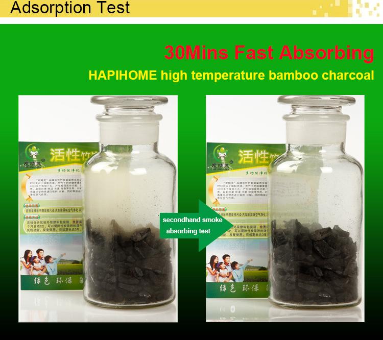 300g, 500g chimico libero naturale sano riutilizzabile attivato sacchetto di carbone di legna di purificazione dell'aria