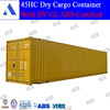 Special container for 45 feet high cube container