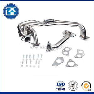 Stainless Long Tube Manifold Header Up Exhaust 02-07 For Impreza WRX/STI EJ20 EJ2