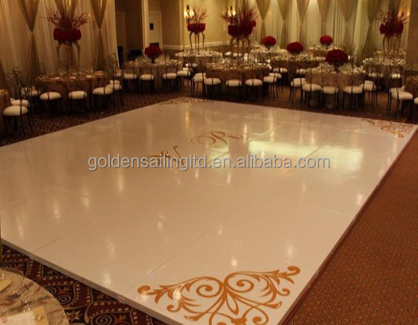 Goedkope led dance floor wit wedding dance floor voor evenementen