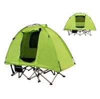 New design portable quick open traveling tent portable outdoor tent bed folding waterproof tent cot