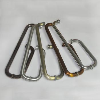 Zinc Alloy Stainless Steel Bronze Round Pull Gl Door Handle