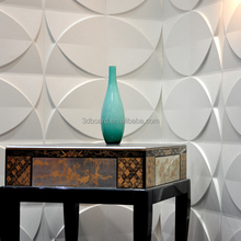 MDF board 3d wall paper with relief design