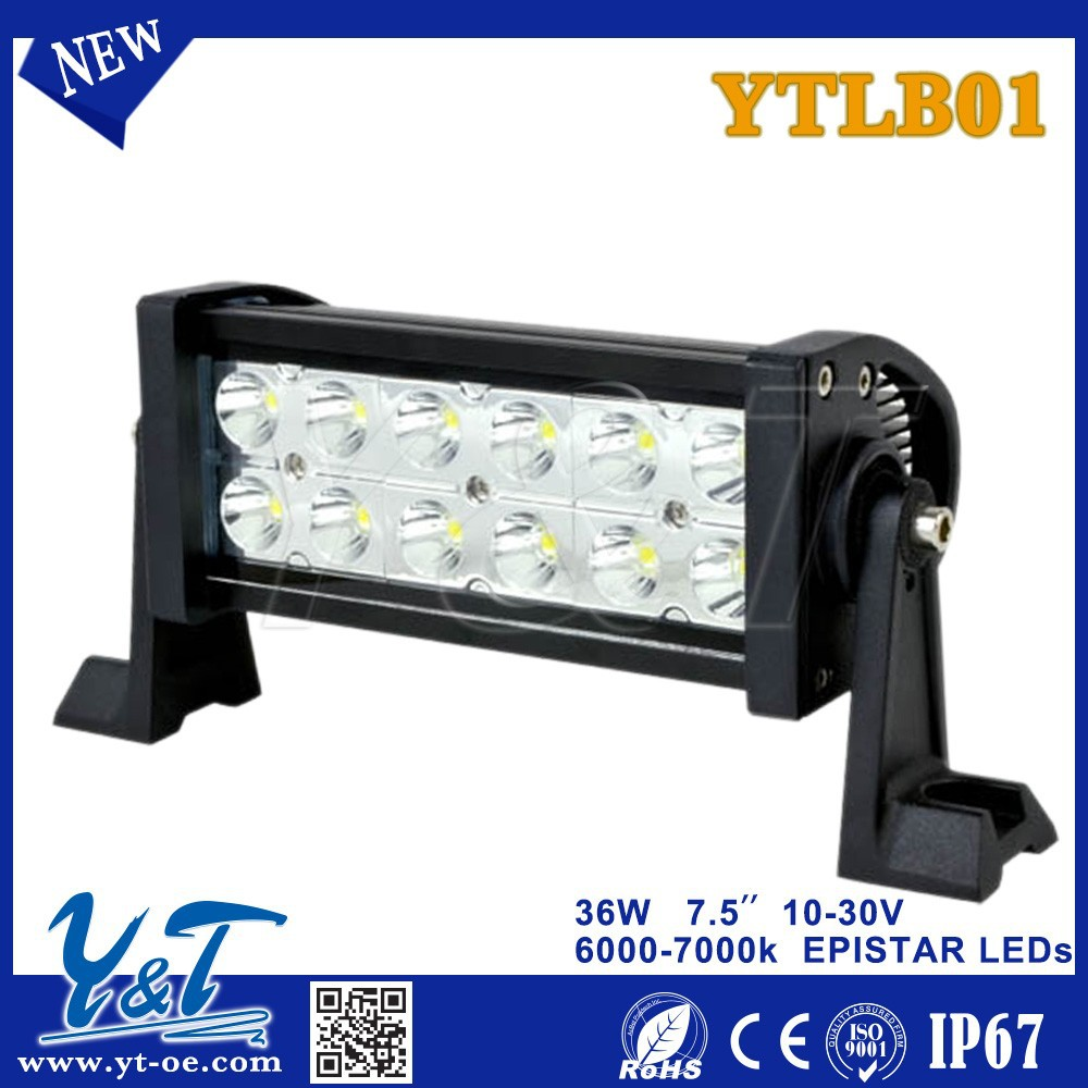 Y&t Ytlb01 Car Led Light Bar Led Auto Lights Autozone 3w Dual Row ...
