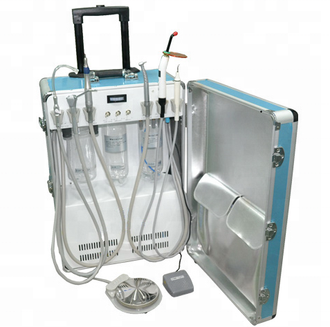Draagbare dental unit met luchtcompressor/Portable dental unit hot koop/Draagbare dental ultrasone scaler D26