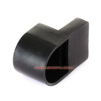 Soft battery terminal rubber cover