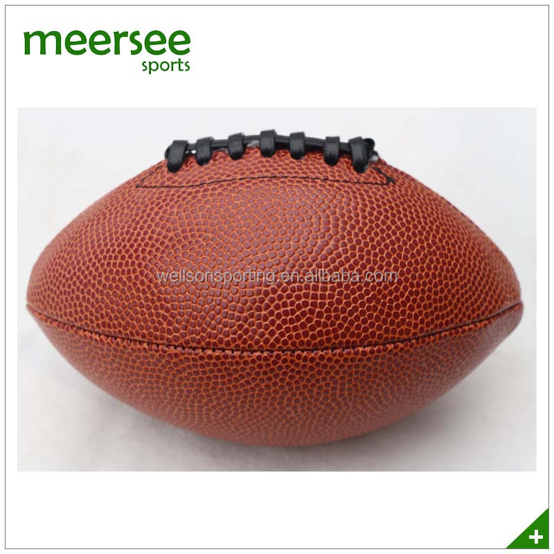 PU synthetic leather signature American football