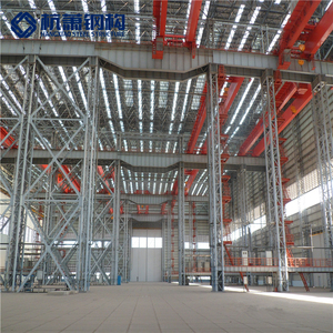 Prefabricated Steel structure Warehouse/Hangar/workshop steel structure for car parking