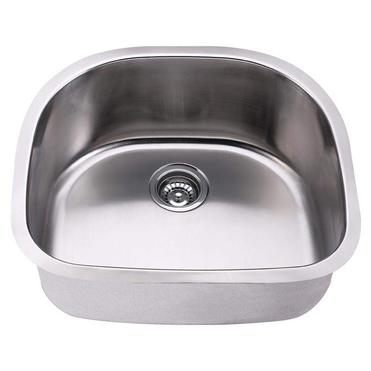Modern Topmount drainboard kitchen stainless steel sink