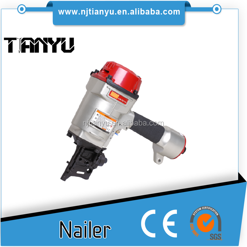 Hardware tools coil nailer CN70 for smooth/ring shank /screw shank coil nails