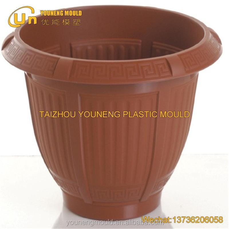 異なるサイズのプラスチック植木鉢金型製作