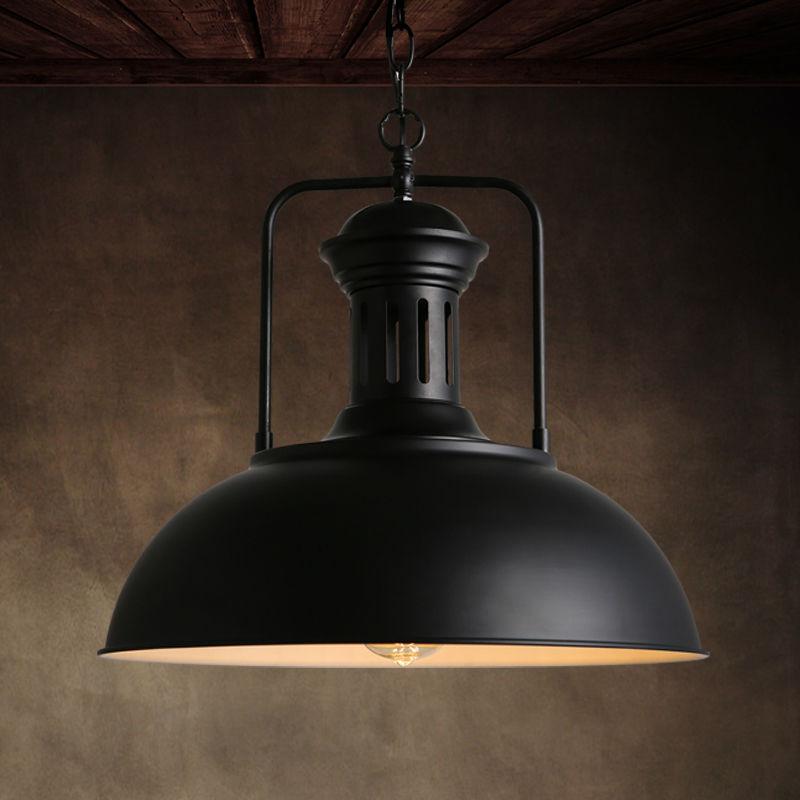 vintage pendant lights fixture rustic metal lamp shades for dining room kitchen industrial loft. Black Bedroom Furniture Sets. Home Design Ideas