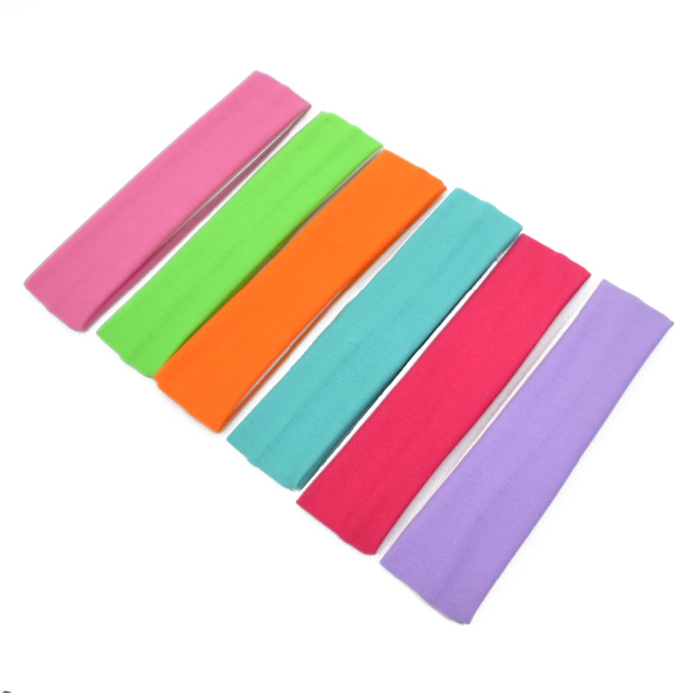 Mix Colorful Women Elastic Soft Sports <strong>Headband</strong> A1732