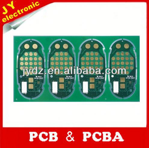 2 layer green pcb with white silkscreen