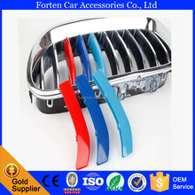 ABS Plastic Decoration strip trim front grill grille Cover for BMW