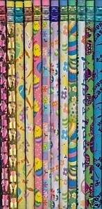 Easter Spring Themed Holiday Pencils 24 Pack