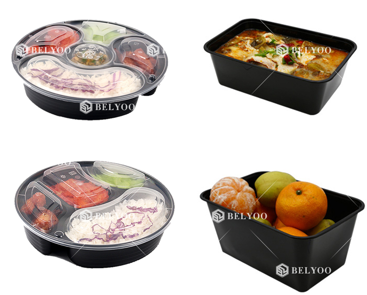 Eco-friendly Compostable Biodegradable Disposable Serving meal prep Trays