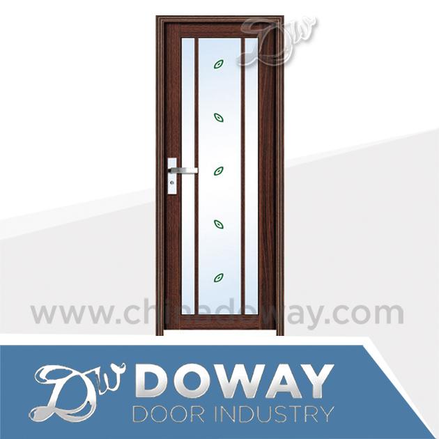 Puerta de cristal decorar ba o dise o de la puerta de for Aluminium bathroom door designs